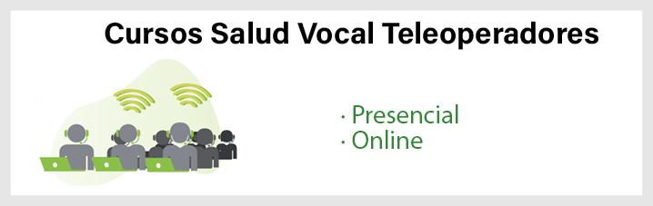 Cursos Salud Vocal Teleoperadores