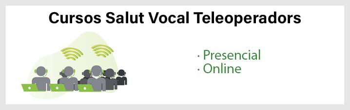 Cursos Salut Vocal Teleoperadors